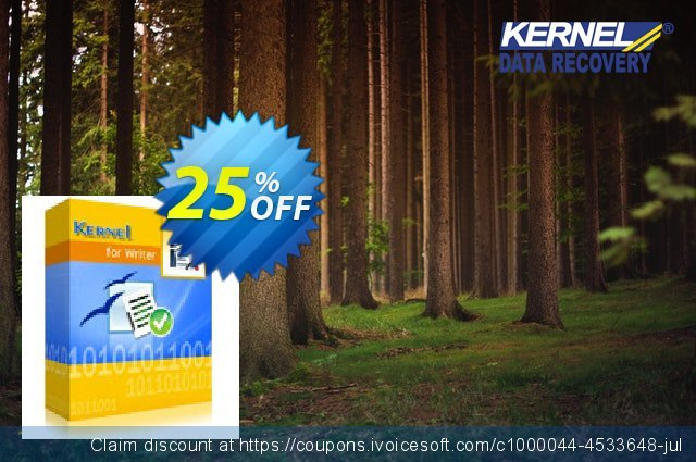 Kernel for Writer - Technician License discount 25% OFF, 2021 New Year's Day promo