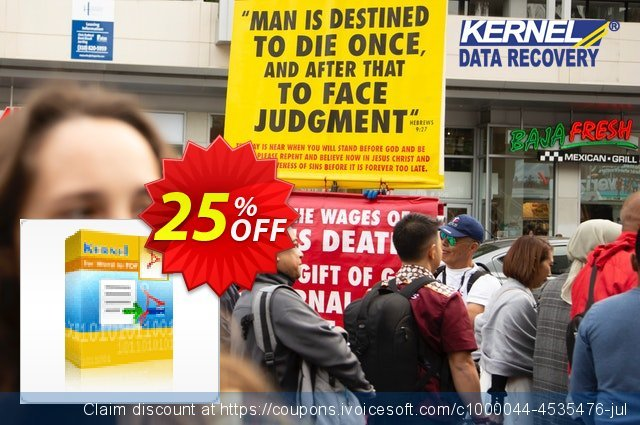 Kernel for Word to PDF - 5 Users License discount 25% OFF, 2021 Happy New Year offering sales