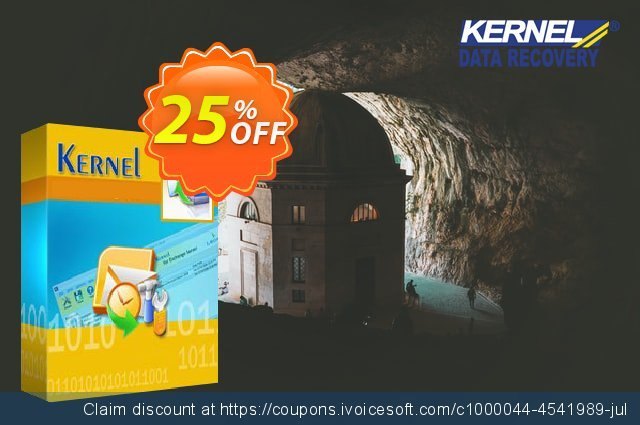 Get 10% OFF Kernel Recovery for Access & Access Password - Home License offering sales