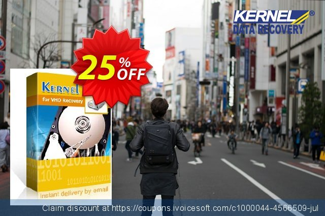Kernel for VHD Recovery discount 25% OFF, 2020 Halloween promo