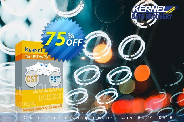 Kernel for OST to PST (Home License) discount 75% OFF, 2021 Mother Day offering sales. Kernel for OST to PST - Home User License staggering promotions code 2021