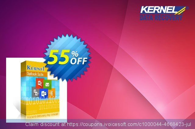Kernel Outlook Suite (Technician License) discount 55% OFF, 2020 Spring sales