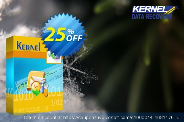 Get 25% OFF Kernel PST Password Recovery Advanced offering sales