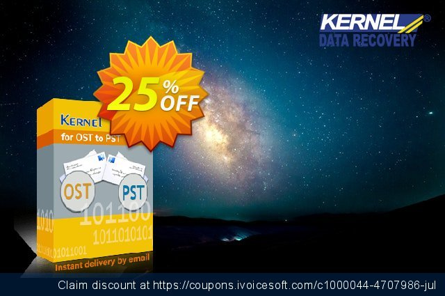 Kernel for OST to PST discount 25% OFF, 2020 Halloween offering sales