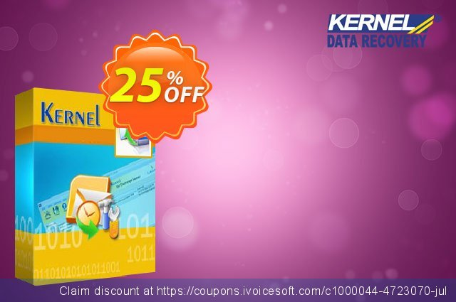 Kernel Outlook Password Recovery - Corporate License  훌륭하   세일  스크린 샷