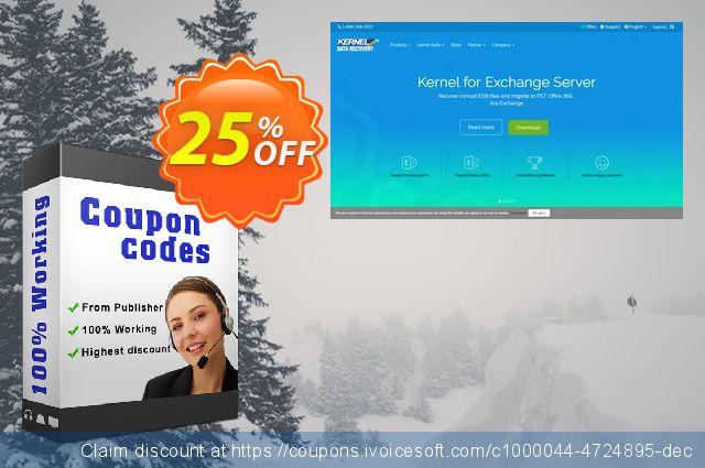 Kernel Migrator for Exchange - Express Edition (101 - 200 Mailboxes) 特殊 产品销售 软件截图
