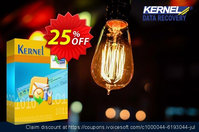 Kernel SQL Backup Recovery - Technician License discount 25% OFF, 2020 April Fools' Day discount