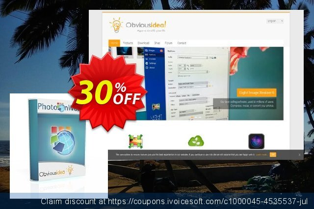 PhotoOnWeb discount 30% OFF, 2020 4th of July promotions