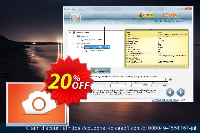Data Recovery Software for Digital Camera discount 20% OFF, 2020 Christmas Day discounts