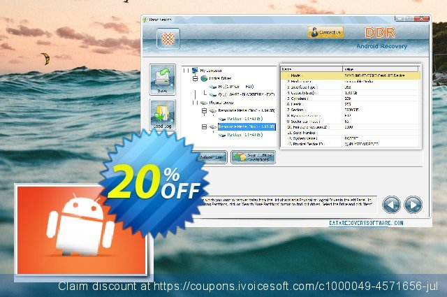 Data Recovery Software for Android discount 20% OFF, 2019 Working Day sales