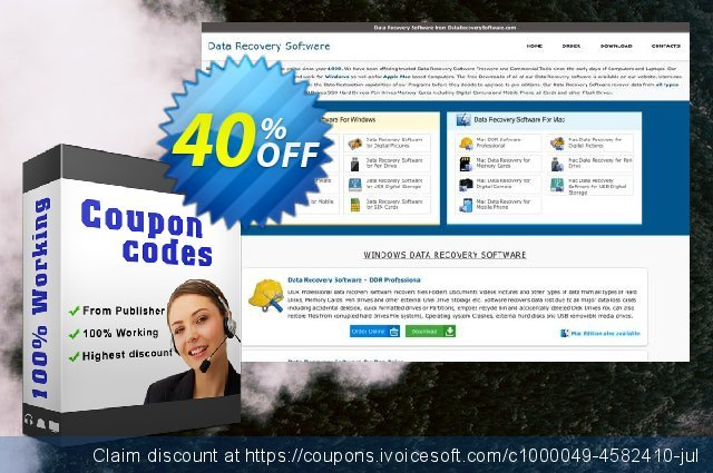 Data Recovery Software for FAT - Corporate or Government Segment User License discount 30% OFF, 2019 Back to School shopping offering discount