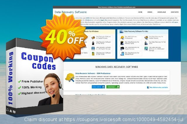 Mac Data Recovery Software for Memory Cards - Corporate or Government Segment User License discount 30% OFF, 2021 Happy New Year offer