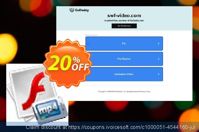 Recool SWF to MP4 Converter discount 20% OFF, 2020 Teacher deals offering sales