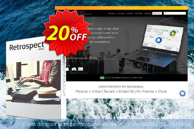 Retrospect Solo for Mac discount 20% OFF, 2019 Back to School event sales