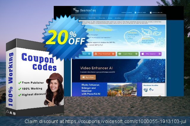 Sothink DHTMLMenu + HTML Editor discount 20% OFF, 2020 Back to School shopping offer