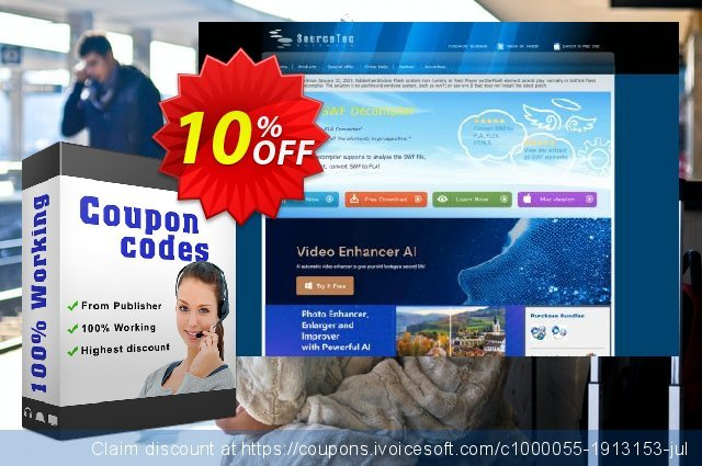 Sothink SWF Quicker + SWF Easy discount 10% OFF, 2020 University Student offer offering sales