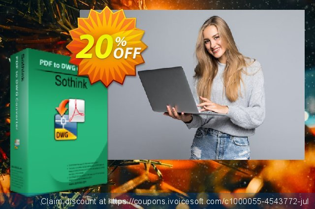 Sothink PDF to DWG Converter discount 20% OFF, 2020 Halloween promo