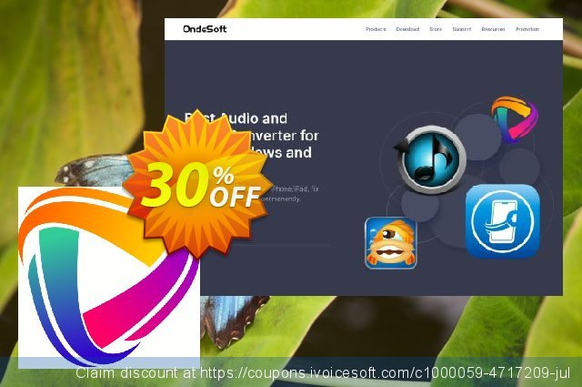Ondesoft iTunes DRM Media Converter discount 30% OFF, 2020 Back to School Promos offering sales