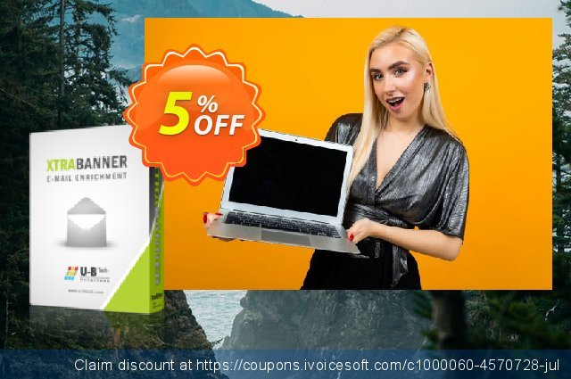 XTRABANNER Monthly Subscription discount 5% OFF, 2020 Halloween offer
