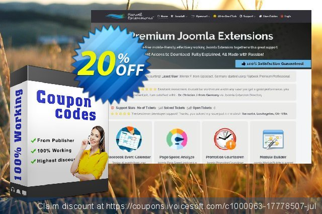 Marvel Extensions - Joomla + K2 Reaction Buttons Premium - Professional Package discount 10% OFF, 2020 College Student deals offering sales