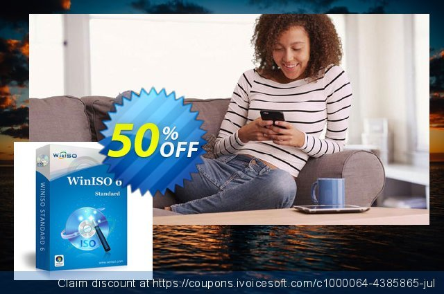 WinISO Standard discount 50% OFF, 2020 Halloween offering sales