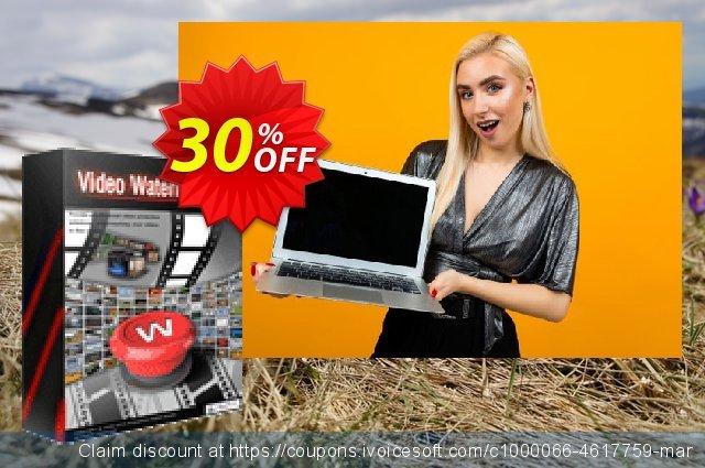 Video Watermark Pro 惊人 产品销售 软件截图