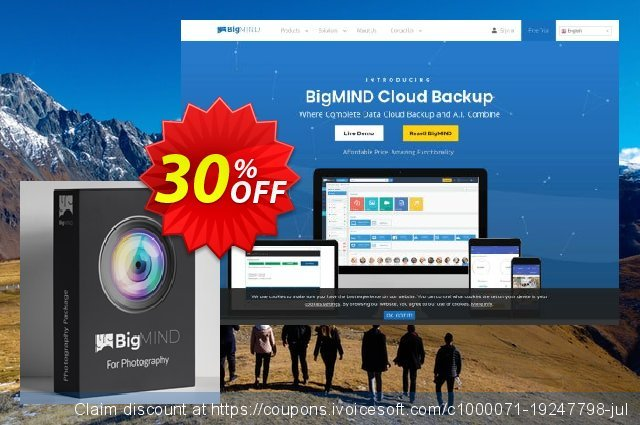 BigMIND Photographers 1TB discount 50% OFF, 2019 Thanksgiving offering sales