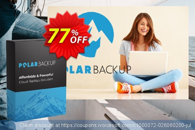 PolarBackup discount 20% OFF, 2021 Women Day discount