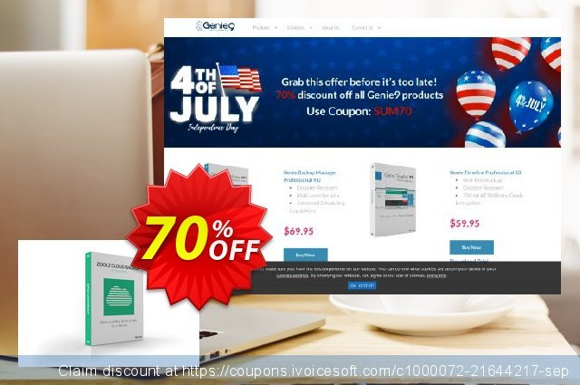 Zoolz Home 2TB Cloud Backup discount 70% OFF, 2020 Back to School promotion discounts