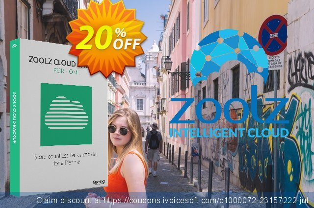 Zoolz Cloud Backup 2T discount 20% OFF, 2021 Hug Day promo