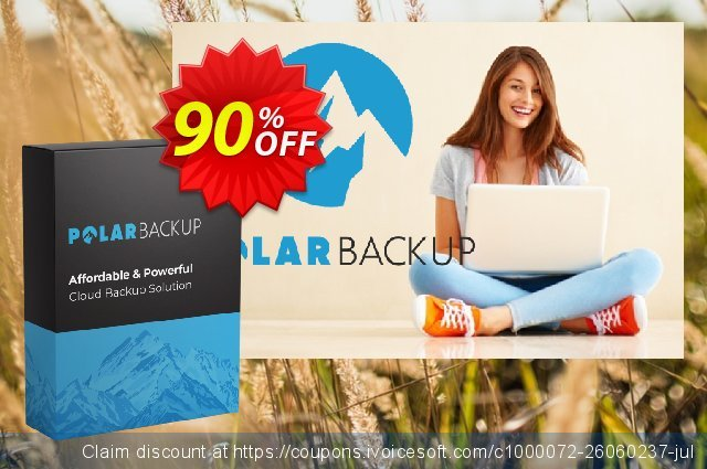 PolarBackup 5 TB (Lifetime) discount 93% OFF, 2019 New Year's Day offering discount