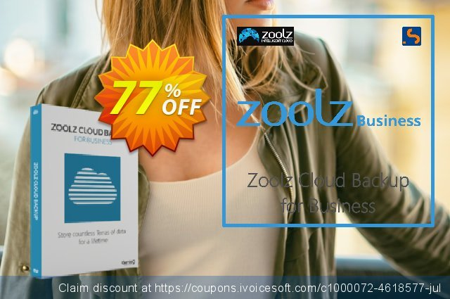 Zoolz Cloud for Business 2TB discount 50% OFF, 2021 Easter day offering sales