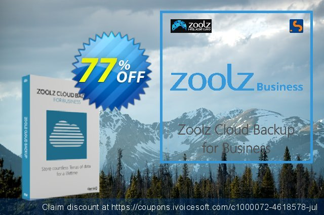 Zoolz Cloud for Business 1TB discount 50% OFF, 2021 Resurrection Sunday offering sales