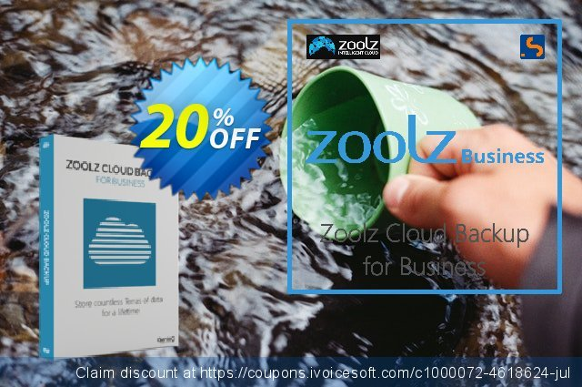 Zoolz Business Terabyte Cloud Storage (10 TB) - Unlimited Users/Servers 令人惊讶的 折扣 软件截图