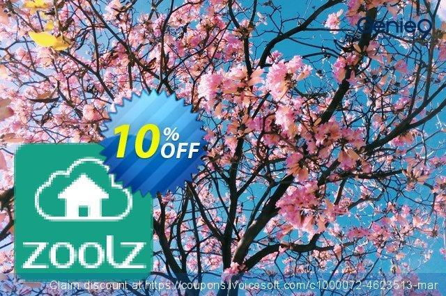Zoolz Cloud 100 GB - 1 Year - Home edition 超级的 扣头 软件截图