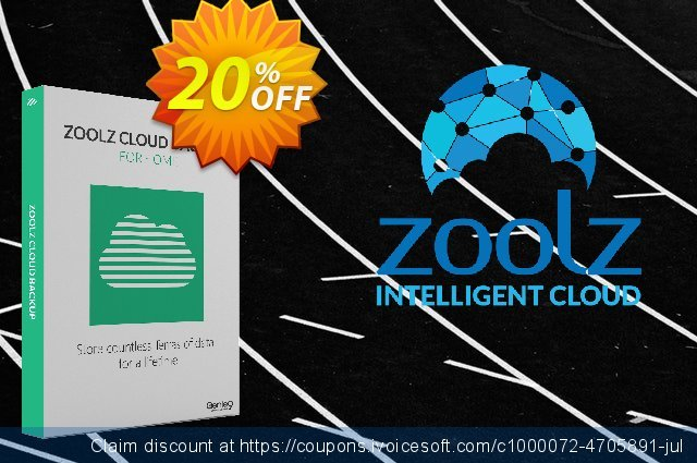 Zoolz Home Cloud 500 GB With 500 GB Instant Vault - LIFETIME discount 20% OFF, 2021 Happy New Year promotions