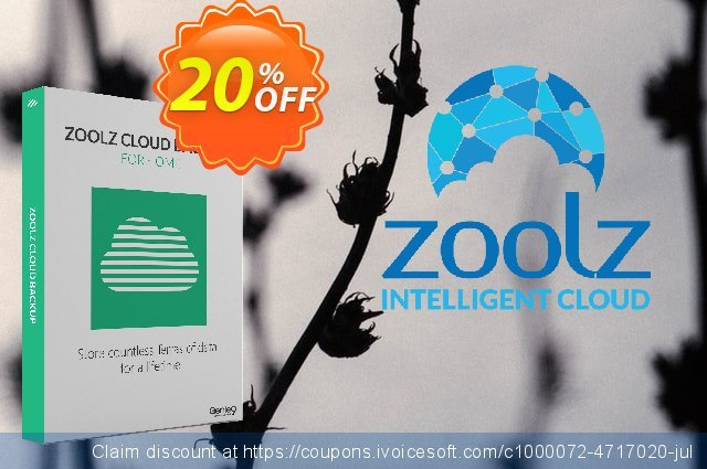 Zoolz Cloud 1 TB - 1 Year - Home edition  신기한   제공  스크린 샷