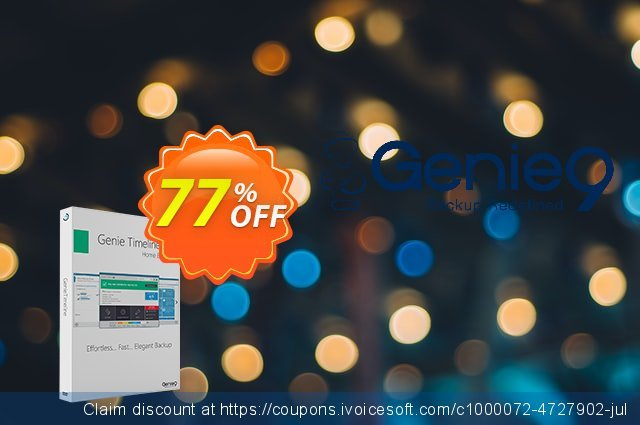 Genie Timeline Home 10 (5 Pack) discount 30% OFF, 2020 New Year's Weekend promo