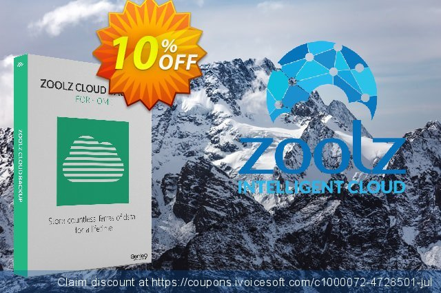 Zoolz Home Cloud 2TB (1TB Cold & 1TB Vault) - LIFETIME (Affiliates)  경이로운   제공  스크린 샷