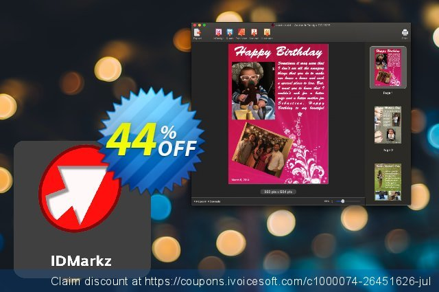 IDMarkz for Mac discount 47% OFF, 2020 College Student deals offering sales
