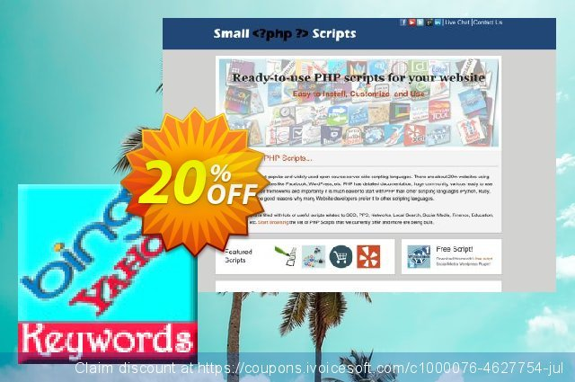 Bing Keyword Suggestion Script discount 10% OFF, 2020 July 4th promotions
