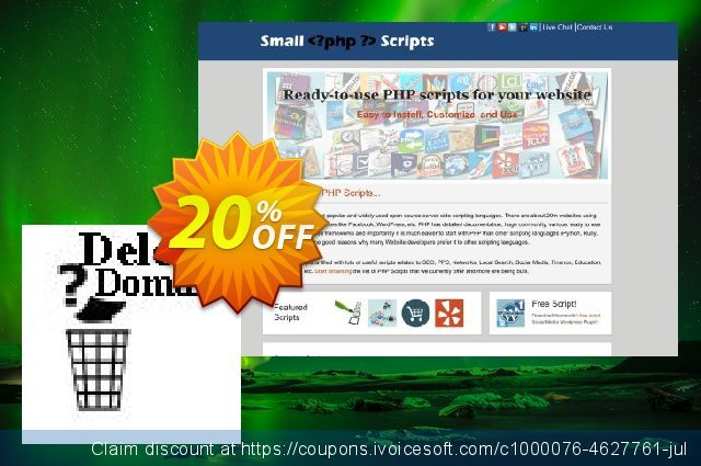 Deleted Domains Checker Script discount 10% OFF, 2020 Easter day discount