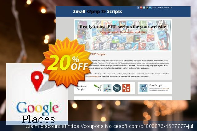 Google Places Api Search Script discount 10% OFF, 2019 Halloween offering deals