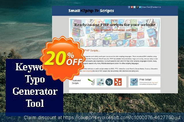 Keyword Typo Generator Script discount 10% OFF, 2020 Resurrection Sunday offering sales