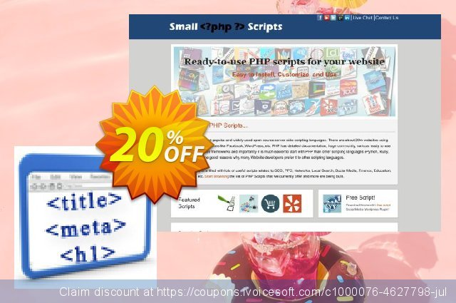 Onpage Seo Analysis Script discount 10% OFF, 2020 Exclusive Student deals promo sales