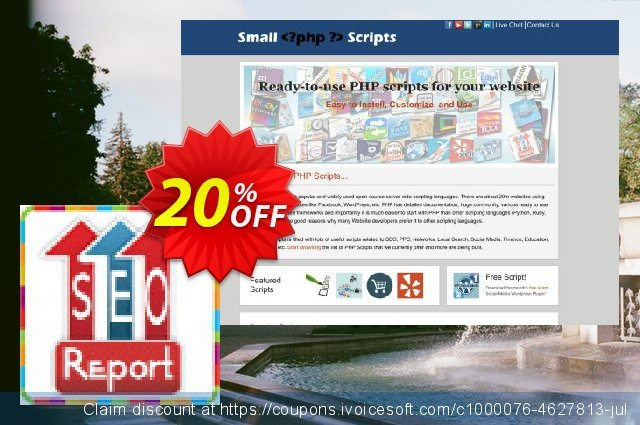 Small Seo Checker Script discount 10% OFF, 2019 Halloween offering discount