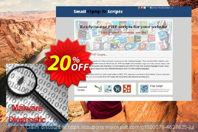 Website Malware Checker Script discount 10% OFF, 2020 Easter day offering sales
