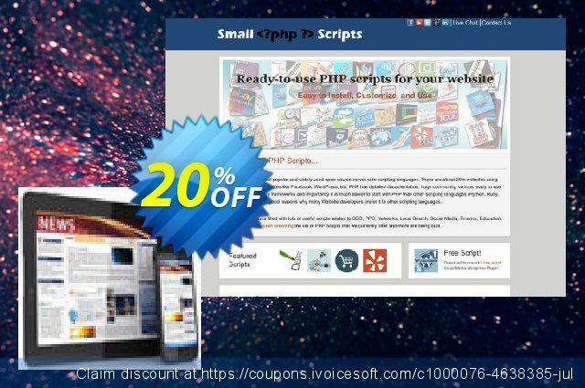 Mobile Website Creator Script discount 10% OFF, 2020 Easter day offering deals
