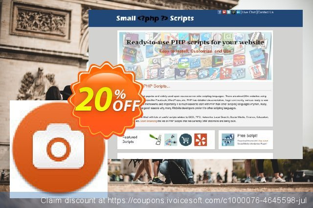 Web Screenshot Script discount 10% OFF, 2019 Halloween offering sales