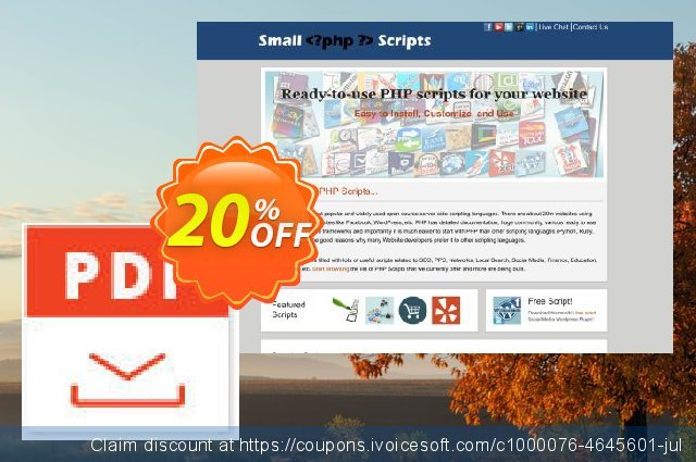 Convert Webpage To Pdf Script discount 10% OFF, 2020 New Year's Day promotions